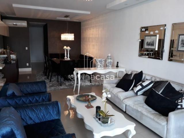 Lindo apartamento semi mobiliado, suite master mais duas suítes, em ótima localização! - Foto 10