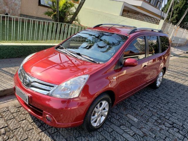 Nissan Grand Livina 1.8 SL 16V Flex 4P Automático 7 Lugares