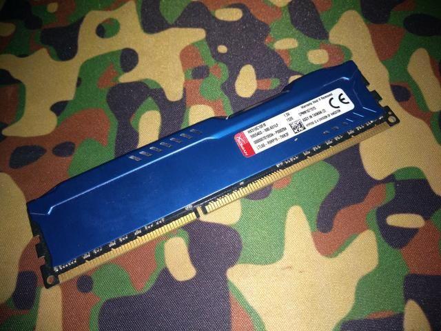 Memória Gamer 8gb Ddr3 1600 Mhz Kingston Hyperx Fury
