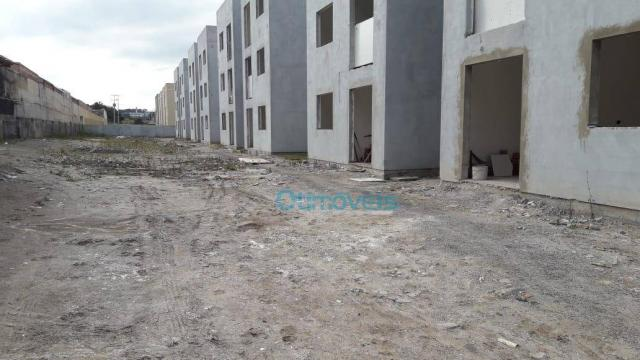 Apartamento com 2 dormitórios à venda, 44 m² por r$ 128.000 - thomaz coelho - araucária/pr - Foto 6
