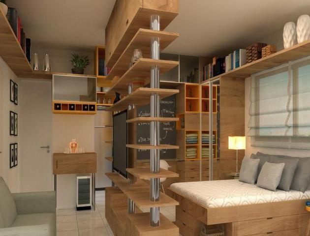 MF- Apartamento na Boa vista, 01 e 02 quartos - Foto 5