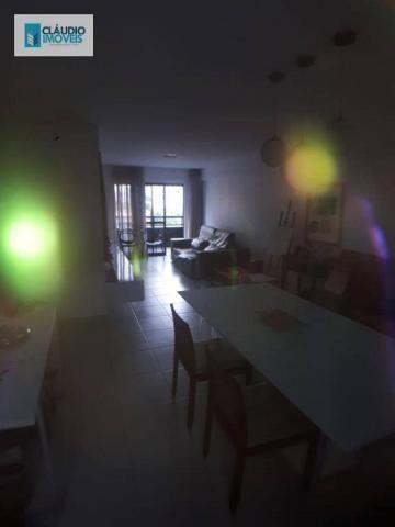 Apartamento com 3 dormitórios à venda, 110 m² por r$ 580.000 - jatiúca - maceió/al - Foto 4
