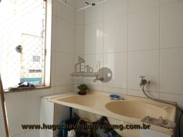 Apartamento à venda com 2 dormitórios em Manoel de paula, Conselheiro lafaiete cod:274 - Foto 12