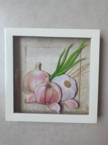 Trio de Quadros arte francesa para cozinha
