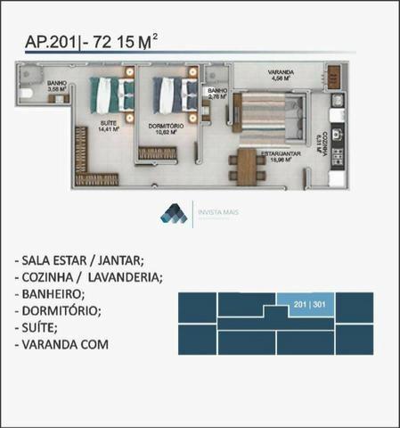 8 - Barbada! Apartamento a 600 metro do mar na Pria dos Santinho em Florianópolis
