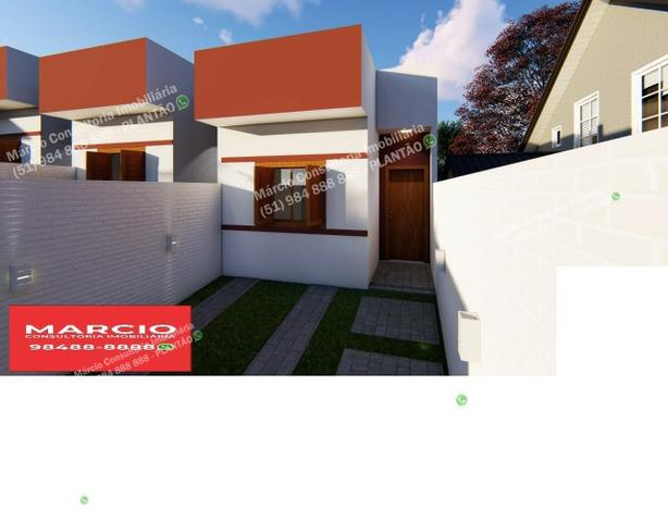 Casas 2 Dormitórios Pátio Fundos Bairro Bom Sucesso Gravataí Minha Casa Minha Vida!! - Foto 2