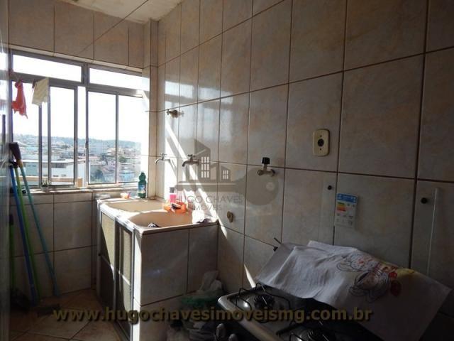 Apartamento à venda com 2 dormitórios em Chapada, Conselheiro lafaiete cod:2102 - Foto 2