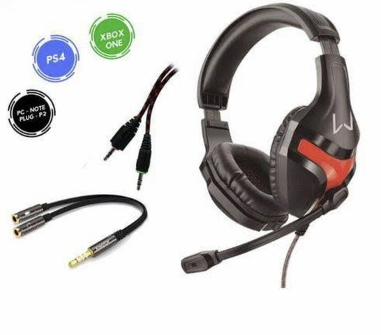 Headset Gamer Multilaser para Xbox/PS4 e USB