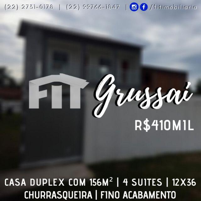 Grussai | 4 quartos | suítes | churrasqueira