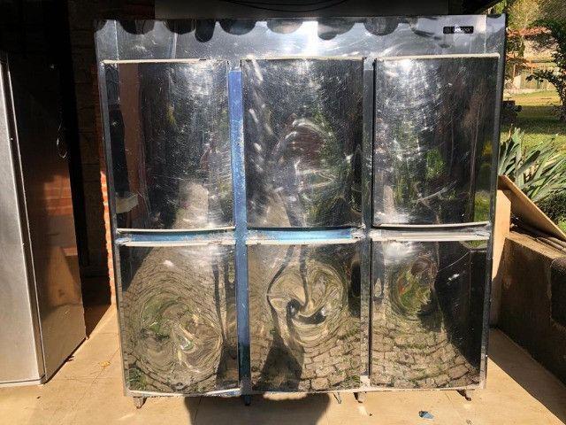 Refrigerador Gelopar 6 portas inox - Foto 4