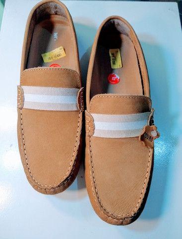 Sapato Masculino de Couro