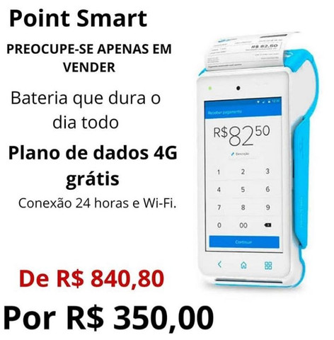 Maquininha point smart