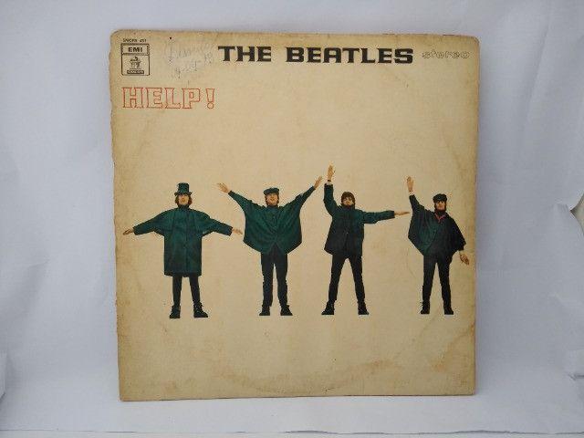 Disco de vinil ;usado ; The Beatles Help
