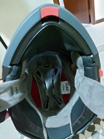 Capacete X 11 robocop com óculos interno top !!!!! - Foto 7