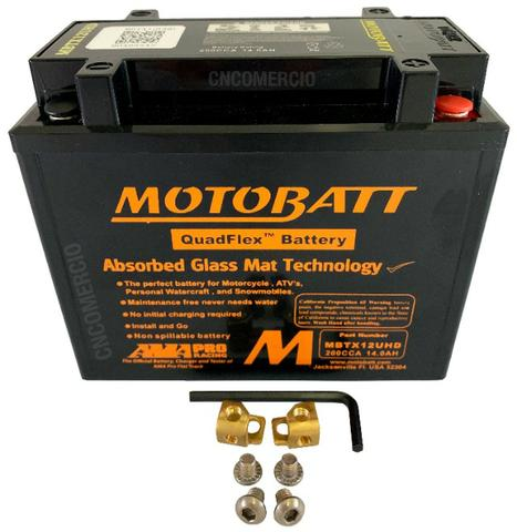 Bateria Motobatt Hd Sportster 883/1200 Bmw R1200 Gs 05-12 Hayabusa 1300 Mbtx12u Ytx14hbs