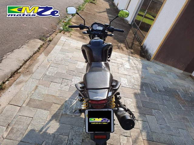 Yamaha Ys 150 Fazer Sed 2018 Preta com 39.000 km - Foto 15