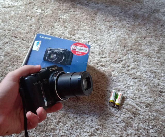 Câmera Canon sx160is Vendo ou troco  - Foto 3