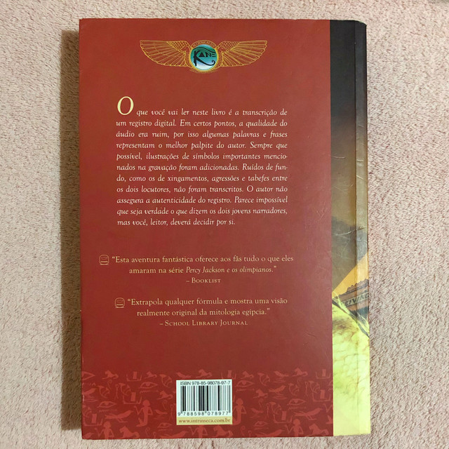 Livro - A Pirâmide Vermelha - Foto 2
