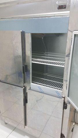 Geladeira/Refrigerador Comercial Inox 4 Portas Cegas GREP-4P Gelopar<br><br> - Foto 2