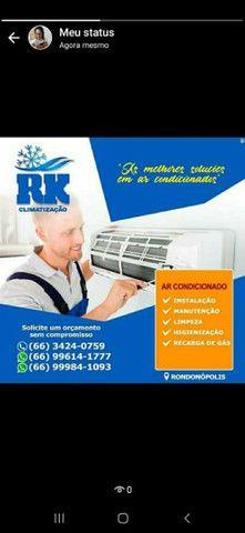INSTALAÇÃO higienização e manutenção