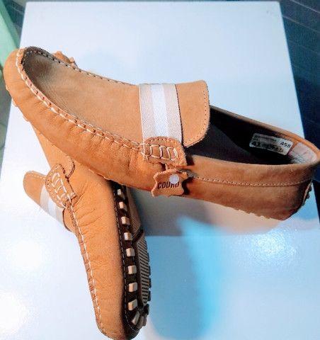 Sapato Masculino de Couro - Foto 2