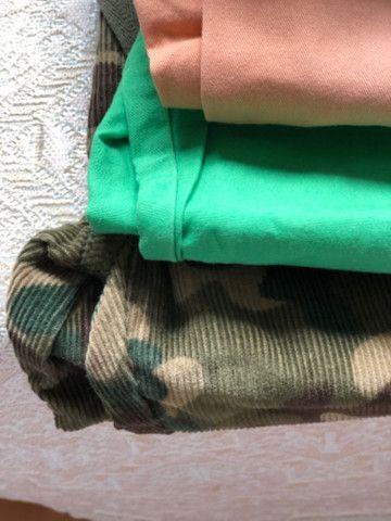 Lote de calças grifadas legítimas tamanho 2 t - Foto 3
