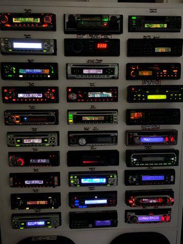 Cd radio das antigas varias marcas e modelos garantia instalado