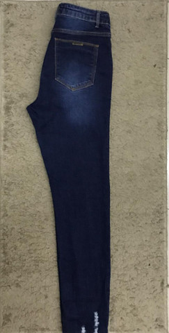 Calça gestante jeans 36 - Foto 3
