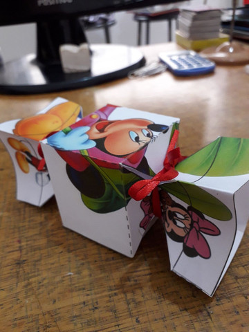 Caixinhas de papel  - Foto 6