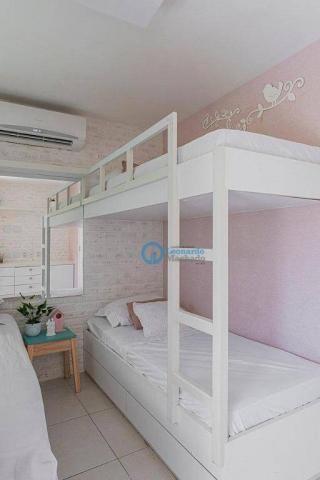 Apartamento com 4 dormitórios à venda, 176 m² por R$ 999.000 - Porto das Dunas - Aquiraz/C - Foto 15