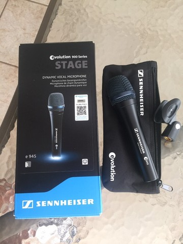 Microfone Sennheiser E-945 Supercardíoide - Original - Made in Germany - Foto 5