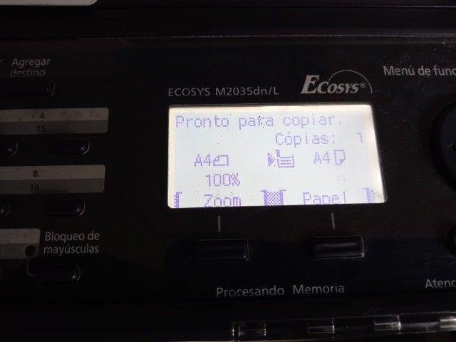Multifuncional Kyocera M2035 Dn Ecosys Mono Duplex - Foto 3