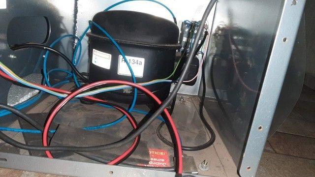 Recicladora De Fluido Refrigerante R134-a Elsawin eck twin dyh - Foto 5