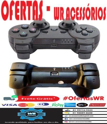 Controle para  PS3 -ENTREGA GRÁTIS - Foto 2