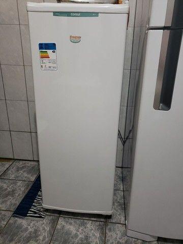 Freezer Vertical Consul 142L CVU20  GB BR NOVÍSSIMO.