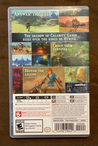 Zelda Breath of the Wild - Nintendo Switch  - Foto 3