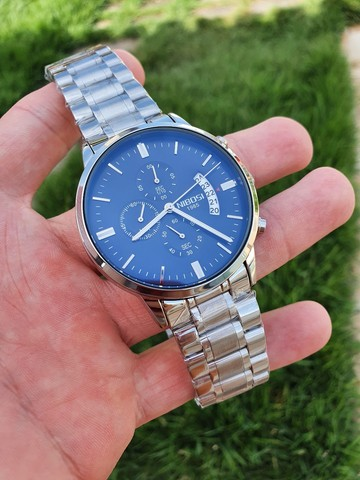 Relógio Nibosi Original Todo Funcional