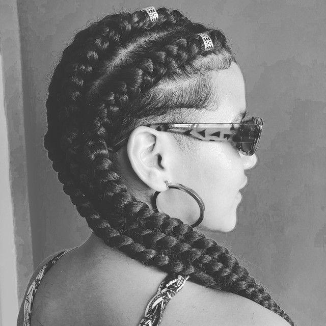 Tranças box braids e nagô  - Foto 5
