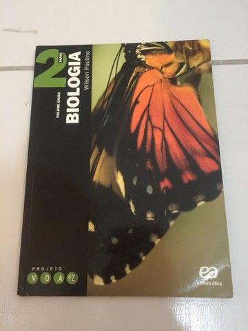 Biologia Projeto Voaz - Wilson Paulino (Editora Ática) - Foto 3