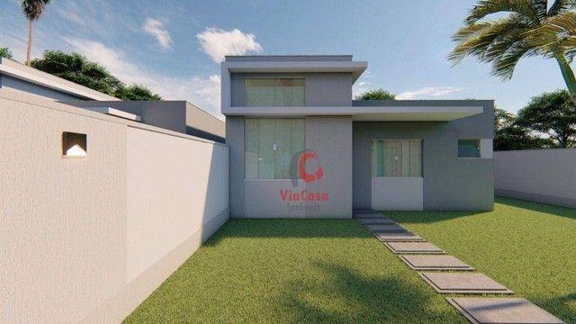 Casa Linear com 3 Quartos Sendo 1 Suíte à venda, 80 m² por R$ 280.000 - Enseada das Gaivot - Foto 7
