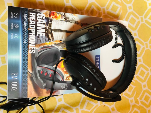 Fone de Ouvido Game HeadPhones