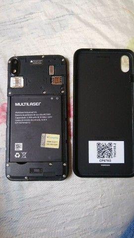 Celular multilaser 32Gb para vender semi-novo - Foto 2