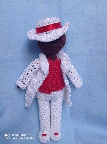 Bonecas em crochê  - Foto 5