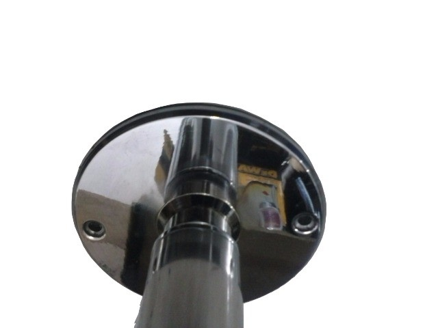 Barra Pole Dance De Aço Inox Removível 1 3/4 (44 Mm) - Porduto Novo - Somos Fabricantes - Foto 2