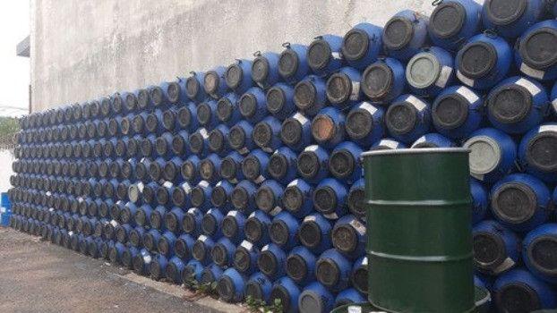 JR Tambores Leiterinha Plástico 50 Litros Tampa Rosqueável - Foto 5