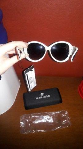 Óculos Sol Anna Flynn Original Uva Novos - Foto 5