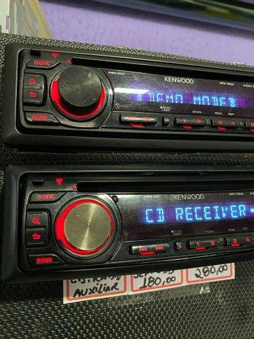 Cd radio das antigas varias marcas e modelos garantia instalado  - Foto 6