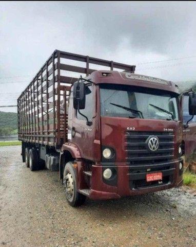 caminhão vw 24250 aceito proposta (troca) - Foto 4