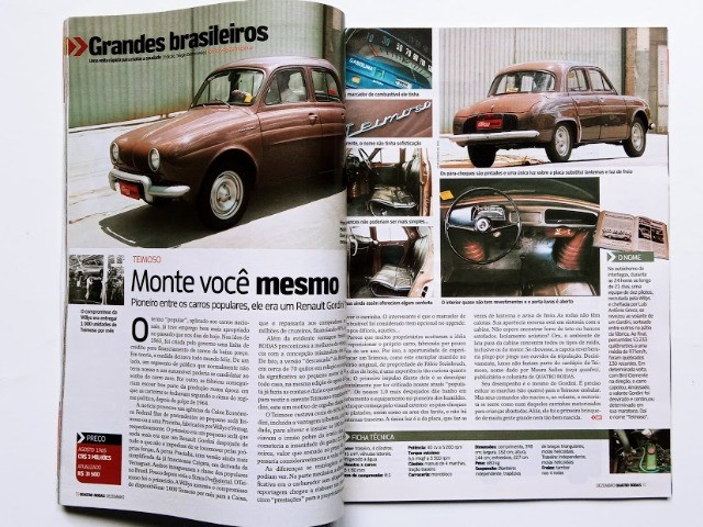 Revista Quatro Rodas - Gordini Teimoso - Foto 2