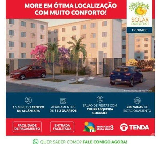 (LC) Apartamentos à 1 km do shopping Pátio Alcântara e a 4 km do Centro de São Gonçalo.